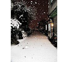 Pure Snowfall Photographic Print