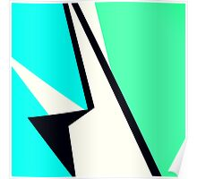 Cool Colorbox Geometric Pattern Poster