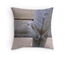 Crosstown Pipes Throw Pillow