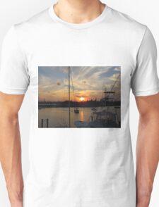 Sunset in Georgetown, SC Unisex T-Shirt