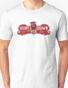 BioShock Infinite – Hunt Down the Vox Game Sign T-Shirt