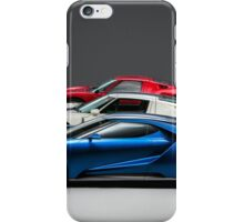 Ford GT History iPhone Case/Skin