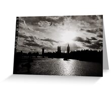 London Landmarks Greeting Card