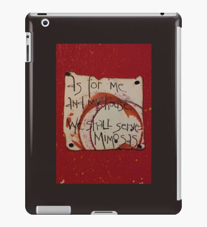 Serve Mimosas iPad Case/Skin