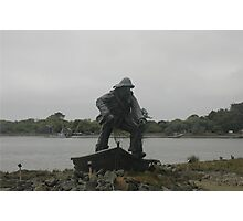 Fisherman Tribute  Photographic Print