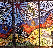 dragon flies mosaic by brendash