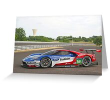 Ford GT LeMans Racer Greeting Card