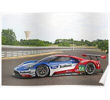 Ford GT LeMans Racer Poster