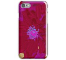 Red Poppy Love iPhone Case/Skin