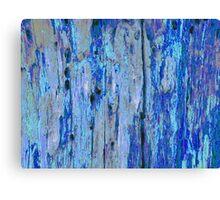 Blue Bark  Oil Canvas Print