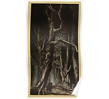 Comus Illustrated by Arthur Rackham 1921 0095 In The Wood Poster