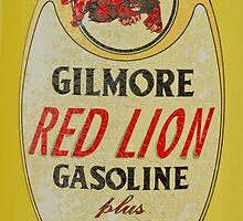 Old Gas Decal by Jeffrey  Sinnock