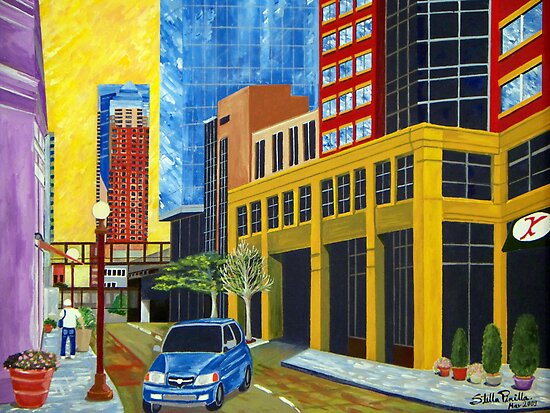6th and St. Peter in St. Paul by Stella Pinilla