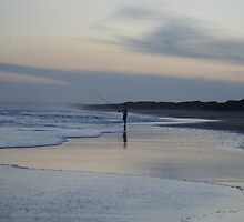 The Lone Fisherman by Carol Field