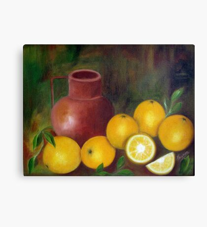 Still Life, Oil Painting Canvas Print
