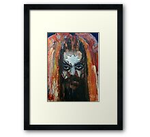 ROY WOOD Portrait. Wizzard, ELO, The Move Framed Print