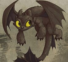 Toothless by ketsuo