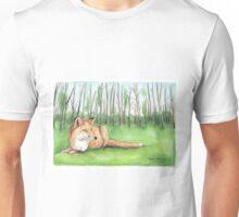 Fox in Berlin Forest Unisex T-Shirt