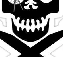 Skull and Hooks Sticker