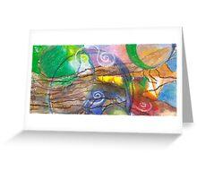Pattern Tree Greeting Card