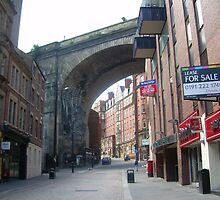 A typical Newcastle Upon Tyne's Street by BlackFeather