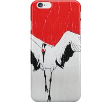 Japanese Crane  iPhone Case/Skin