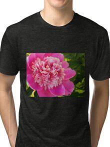 Blooming Peony Tri-blend T-Shirt