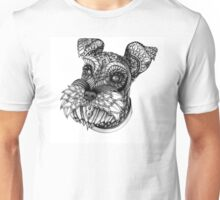 Ornate Schnauzer Unisex T-Shirt