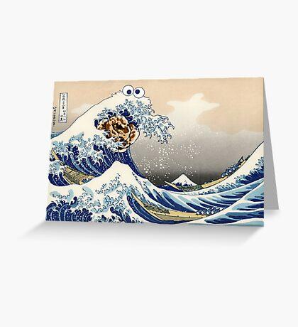 The Great Cookies off Kanagawa Greeting Card