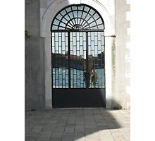 Mirrored Illusions of Venice Photographic Print