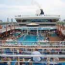 The Pool Deck of the Dawn by Memaa