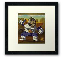 Ozaru Vegeta Framed Print