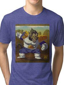 Ozaru Vegeta Tri-blend T-Shirt