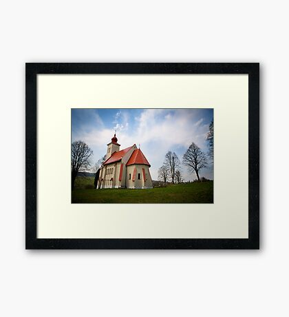The Church with all the History Framed Print