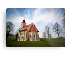The Church with all the History Metal Print