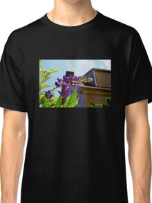 Purple Flowers in the Light Classic T-Shirt