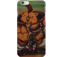 Sanzoku Kuma iPhone Case/Skin