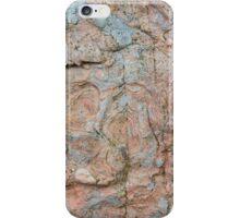 Orkney sandstone and lichen iPhone Case/Skin