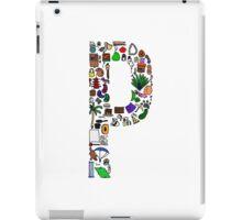BS ABC's: P iPad Case/Skin