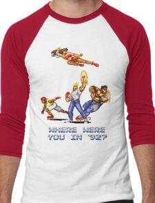 Rage in 1992 Men's Baseball ¾ T-Shirt