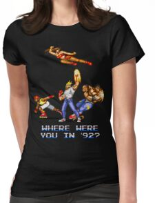 Rage in 1992 Womens Fitted T-Shirt