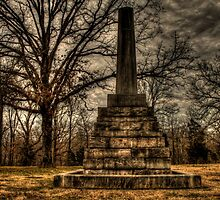 Meriwether Lewis Monument by Terence Russell