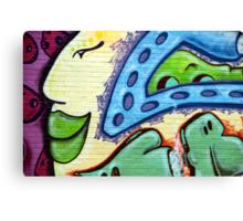 Graffiti Beauty Canvas Print