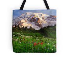 Rainier Wildflowers Tote Bag