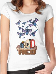 The Binding of Red Women's Fitted Scoop T-Shirt