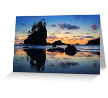 Olympic Reflection Greeting Card