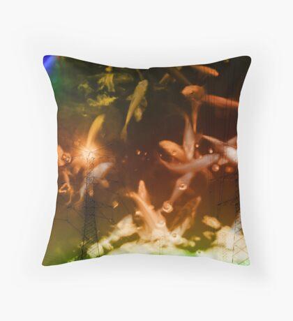 apocalyptic fishnets Throw Pillow