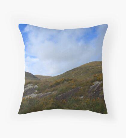 Mountain Sky - Killarney, Kerry, Ireland Throw Pillow