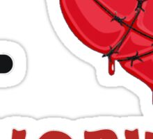 I Love (Heart) Cenobites. Sticker