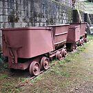 Mining Cars by NancyC